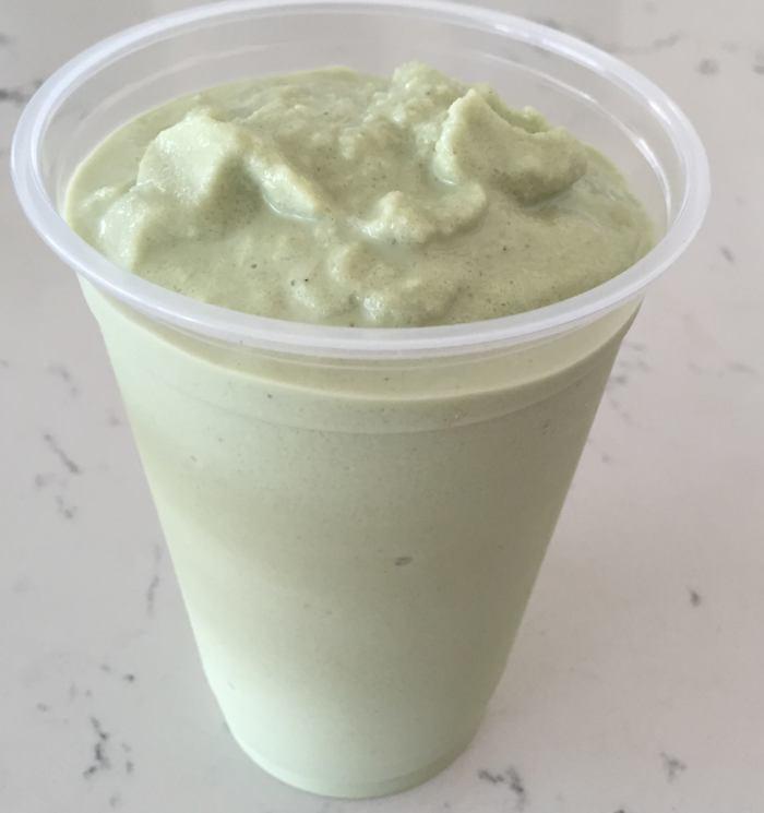 Matcha Green Tea Shake $6.50 ...