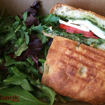 Organic Pesto Chicken Panini $9 ...